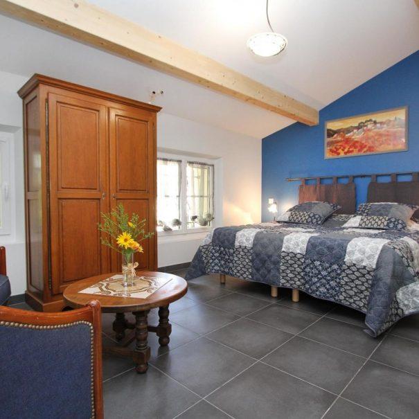 La chambre Bleuet